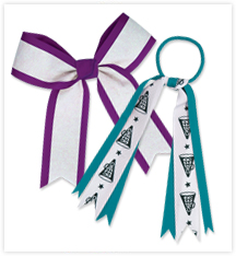 Classic Cheer Hair Bows and Ribbons