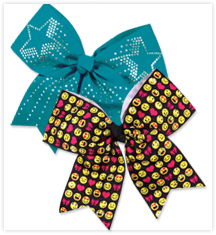 Cheerleading Performance Hair Bows