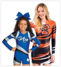 Sublimation Cheerleading Uniforms