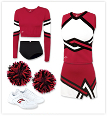 Chasse Cheerleading Uniform Packages